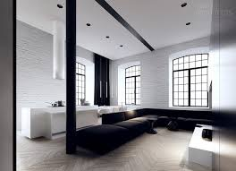 4 black white interior design