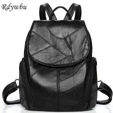 Rdywbu <b>Genuine</b> Leather <b>Women Backpack</b> Luxury Girls <b>New</b> ...