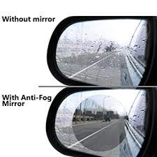 Taslar <b>Waterproof Film Rear View</b> Mirror Side View Glass Anti-Fog ...