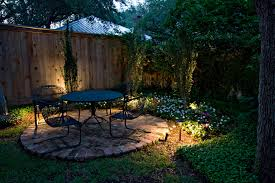 small spaces in your charlotte backyard can be brought to life with patio lighting from outdoor backyard landscape lighting