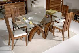 latest dining tables: room appealing rglass room agreeable dining room tables glass top rectangular modern dining set adeline made from wood also grey rug in elegant interior decorating ideas