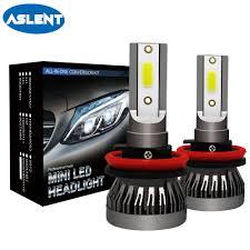 <b>ASLENT 2PCS Mini Auto</b> Bulbs LED H7 H4 H11 H1 H8 H9 9005 ...