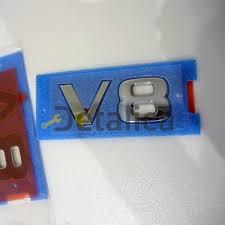 <b>Шильдик V8 на</b> крыло Ниссан Патрол 62 рестайл