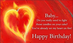 Cute Romantic Birthday Sms for Husband Wife via Relatably.com