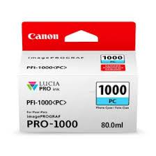 <b>Canon PFI-1000PC Photo Cyan</b> Ink Cartridge (Original) | Official ...