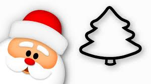 <b>Christmas Tree</b> & <b>Santa Claus</b> drawing | Happy New Year! - YouTube