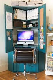 corner computer armoire home office space saving furniture armoire office desk