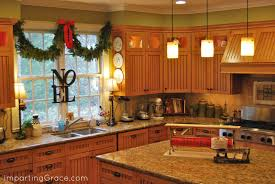 Decor For Kitchen Counters Ideas For Decorating Kitchen Counters Miserv