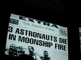 「1967, apollo 1 blast in test」の画像検索結果