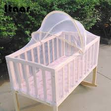 <b>Baby Bed Tent Infant</b> Canopy Folding Anti Mosquito Net Toddlers ...
