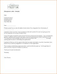 formal resignation letter weeks notice best business template letter of resignation samples two weeks notice two weeks notice svxea9of