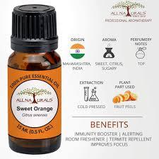 All Naturals Orange <b>Essential Oil</b> (<b>Sweet</b>) 15ml 100% <b>Pure</b> for ...