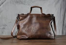 Handmade Men's <b>Leather</b> Shoulder <b>Bag</b> | Ahoy Comics