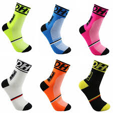 DH Sports New Cycling Socks <b>Top Quality Professional Brand</b> Sport ...