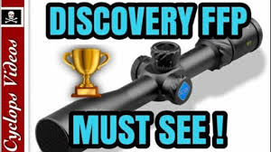 Discovery Optics 4.5-18x44 Rifle Scope Review - Airgun 101