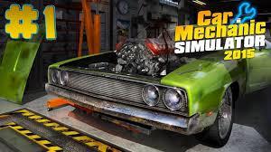 <b>Car Mechanic</b> Simulator 2015 - Walkthrough - Part <b>1 (PC</b> HD ...