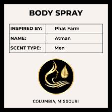 <b>Phat Farm Atman</b> - Inspired Men's Fragrance - Body Oil Spray
