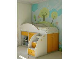 <b>Кровать</b>-чердак Маугли <b>МДМ</b>-<b>2К</b> двухъярусная с тумбой ...