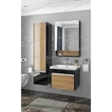 <b>Комплект мебели подвесной</b> Francesca Doremi <b>60</b>, черный/ясень