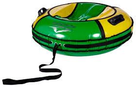 Купить <b>Тюбинг ReAsfalto Rodeo</b> 100 см зеленый/желтый по ...