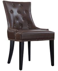 Brown Leather Dining Room Chairs Uptown Brown Leather Dining Chair Uptown Brown Leather Dining