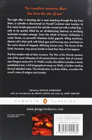 the war of the worlds penguin classics h g wells andy sawyer the war of the worlds penguin classics h g wells andy sawyer patrick parrinder brian aldiss 9780141441030 com books