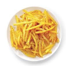 <b>Картошка фри</b> в духовке с сыром и чесноком, рецепты с фото