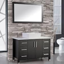 usa tilda single bathroom vanity set: mtd vanities aruba ampquot single sink bathroom vanity set with mirror