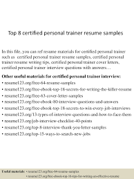 personal trainer sample resume public relations manager sample 4jpg cb 1433498842 top8certifiedpersonaltrainerresumesamples 150605100627 lva1 app6892 thumbnail 4 top 8 certified personal trainer resume samples
