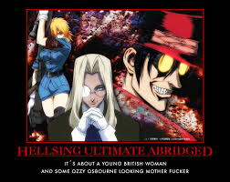 DeviantArt: More Like Hellsing Ultimate Abridged Quotes #13 by ... via Relatably.com