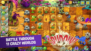 Image result for Plants vs Zombies 2 v5.9.1 APK Terbaru 2017