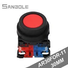 Mushroom Momentary <b>button</b> 30mm Red green Push <b>Button Switch</b> ...