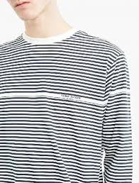 Stone Island <b>Striped</b> Cotton Marina T-Shirt The Stone Island <b>Striped</b> ...