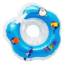<b>Круг для купания</b> на шею <b>Roxy KIDS</b> Flipper FL001-b — купить в ...