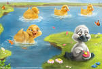 Images & Illustrations of ugly duckling