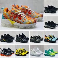 <b>2019 New</b> TN <b>Running</b> Shoes For Men Women <b>Kids</b> Black Red ...