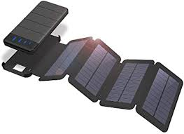 ZUEN Removable Solar Charging Panel, LED ... - Amazon.com
