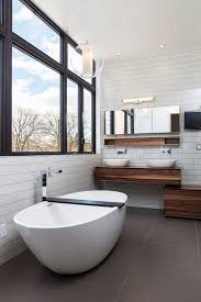 vanity light bar bathroom contemporary with black window frame flat image by wetstyle black vanity lighting