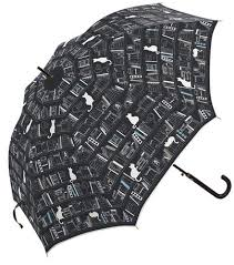nekonote: <b>60cm</b> jump umbrella <b>fashion</b> book, black, wind-resistant ...
