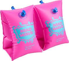 <b>Нарукавники</b> для плавания <b>Mad Wave</b> MW-093, розовый — купить ...