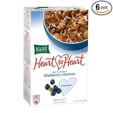 Kashi Heart to Heart Oat Flakes and Blueberry ... - Amazon.com