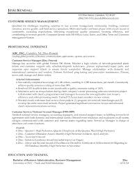 customer service manager resume examples resume examples  customer service manager resume sample