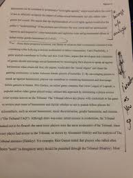 composition second draft composition writing c instructor andreasen s notes on my paper notice the barrage w o analysis