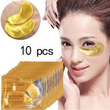 <b>10Pcs</b> Eye Mask <b>Gold Crystal</b> Collagen Eye Patches | Shopee ...