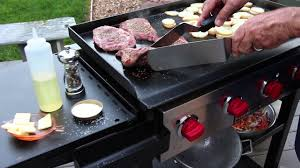 How To Grill on a <b>Flat Top</b> - YouTube