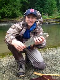 fishing report for week ending island outfitters a nice coastal cutthroat from the cowichan river