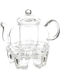 <b>Чайник заварочный</b>, 850116, с <b>подставкой</b> для свечи, 800 мл ...