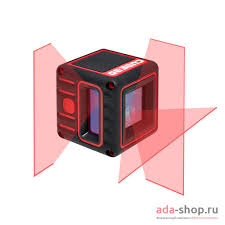 <b>Нивелир</b> лазерный <b>ADA CUBE</b> 3D BASIC EDITION А00382 ...