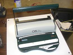 "Akiles <b>OffiWire</b>-<b>31</b> 11"" 3:1 Pitch <b>Wire Binding</b> Machine & Punch by ..."