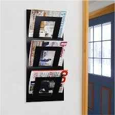 magazine rack wall mount: cozy wall mount magazine rack  home design ideas royal blue